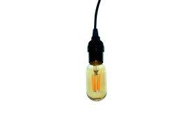 LED lempa ORRO, 6W, E27, T45, 2700K, 220V, 600 lm, filamentinė, su laidu, A530790009, 55015, N