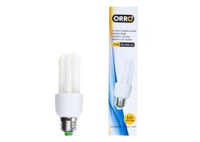 Energiją taupanti lempa ORRO A530150045 11W, E27, 2U mini, 550 lm, N