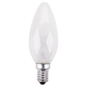 Kaitrinė lempa ISKRA 367180 40 W, E14, 230 V, žvakė, matinė,