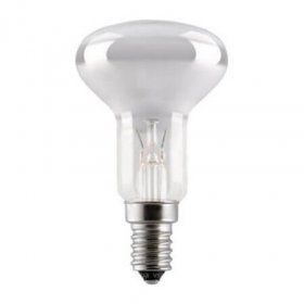 Kaitrinė lempa ISKRA  60 W, E14, R50, reflektorinė