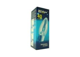 Kaitrinė lempa ISKRA 557022 60 W, E27, 230 V, žvakė, skaidri,