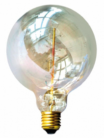 Kaitrinė lempa ORRO, 60W, E27, G125, 2700K, 230V, 200 lm, dekoratyvinė