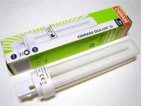 Liuminescencinė lempa OSRAM  26 W, G24D-3, 4000 K, N