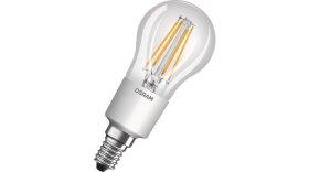 LED Lempa OSRAM PARATHOM 6W, E14, 220-240V, 2700K, 806 lm, CL P FIL, filamentinė, burbuliukas, atitinka 60W lemputę