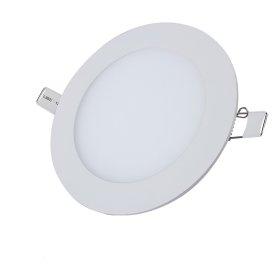 Montuojamas šviestuvas ORRO panelė, įl., LED 6 W, 220-240 V, 360 lm, 4500 K, apvali, balta, 30000 h, A170990179, P-27