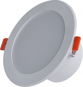 Montuojamas šviestuvas ORRO BYD14C, LED 12 W, 220-240 V, 840 lm, 3000 K, 30.000 h, IP44, apvalus, baltos spalvos, A170900197