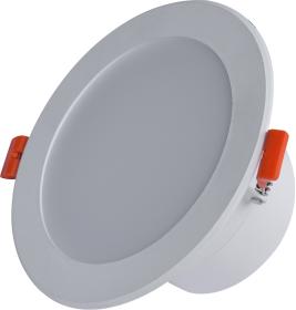 Montuojamas šviestuvas ORRO BYD17C, LED 18 W, 220-240 V, 1260 lm, 3000 K, 30.000 h, IP44, apvalus, baltos spalvos, A170900198