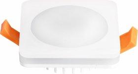 Montuojamas šviestuvas ORRO MPL-7W-SW, LED 7 W, 220-240 V, 450 lm, 3000 K, 30.000 h, kvadratinis, baltas, A171090001