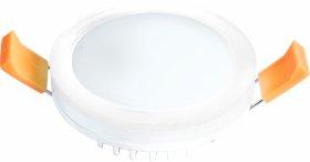 Montuojamas šviestuvas ORRO MPL-7W-RW, LED 7 W, 220-240 V, 450 lm, 3000 K, 30.000 h, apvalus, baltas, A171090008