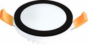 Montuojamas šviestuvas ORRO MPL-7W-RB, LED 7 W, 220-240 V, 450 lm, 3000 K, 30.000 h, apvalus, juodas, A171090009