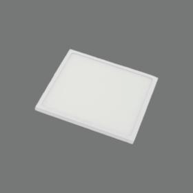 Montuojamas šviestuvas panelė TOPE SPLIT, įleidžiama, LED 30W, 4000K, 2400 lm, pjaunamos skylės matmenys 200 mm, siauras rėmelis, kvadratinė, 6003000028