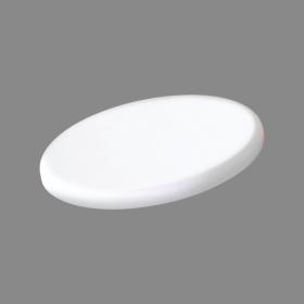Montuojamas šviestuvas panelė TOPE RONDA IK08, įleidžiama, LED 30W, 3000K, IP65, 2270 lm, pjaunama skylė 195 mm, be rėmelio, apvali, baltos sp., 215x25 mm, 6003000036, garantija 3m.