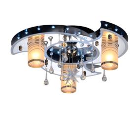 Pakabinamas LED šviestuvas BALTIK GAISMA K5235/3+1 CR/BK