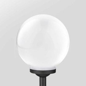 Lauko šviestuvas SUNLUX 8010, su saulės elementais/baterija, plastikinis, įsmeigiamas, burbulas, 43 x 15 x 15 cm, A170690033, ST