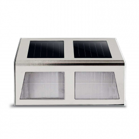 Lauko šviestuvas SUNLUX 8104, su saulės elementais/baterija, metalinis, sieninis, 15 x 11 x 4 cm, A170610066, ST
