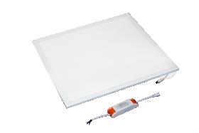 Montuojamas šviestuvas ORRO panelė, įleidžiama, LED 42 W, 220-240 V, 2900 lm, 3000 K, kvadratinė, baltos spalvos