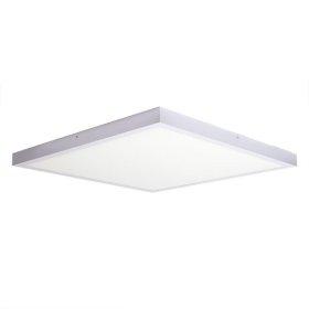 Montuojamas šviestuvas ORROpanelė, paviršinė, LED 42 W, 220-240 V, 2940 lm, 3000 K, kvadratinė, baltos spalvos, 600x600 mm, A170910212