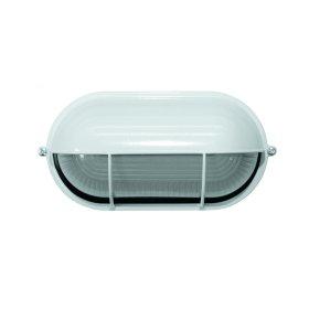 Specialiųjų patalpų šviestuvas ORRO TLWTL-05, IP54, E27, 60 W, ovalus, baltos spalvos, A171390003