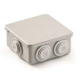 Paskirstymo dėžutė FAMATEL 3026, paviršinė, 65 x 65 x 45 mm, IP65, pilka