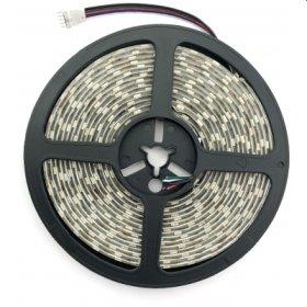 Šviesos diodų juosta AVIDE, LED 5 m, 12 W/m, IP65, RGB+W (RGB+4000K), 3600 lm, 12V, SMD2835, 120 laipsnių, 720 lm/m