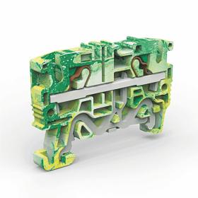 Rinklė CABUR EFCE400, įžeminimo, 4 mm, geltonos/žalios spalvos