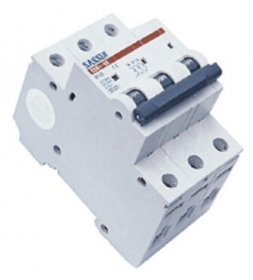 Automatinis išjungiklis SASSIN 1048 3P, 20 A, 4,5 kA B, 3SB1-63,