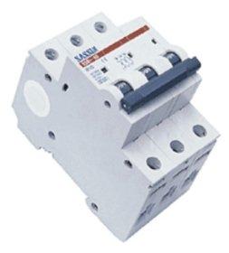 Automatinis išjungiklis SASSIN 1049 3P, 25 A, 4,5 kA B, 3SB1-63,
