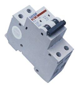 Automatinis išjungiklis SASSIN 1127 2P, 16 A, 4,5 kA, C, 3SB1-63,