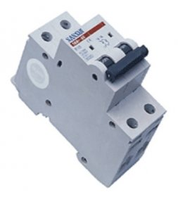 Automatinis išjungiklis SASSIN 1129 2P, 25 A 4,5 kA C, 3SB1-63,