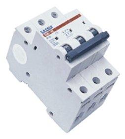 Automatinis išjungiklis SASSIN 1145 3P, 6 A 4,5 kA C, 3SB1-63,