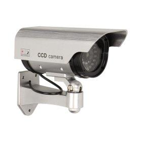 Stebėjimo kameros imitacija ORNO OR-AK-1201, vidaus ir lauko naudojimui, su mirksinčiu LED,  2 x 1,5V AAA