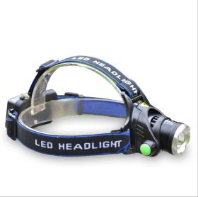 Led žibintuvėlis SUNLUX, CREE LED, ant galvos, pakraunamas 2 x 18650, 350 lm, 3009, A171490009