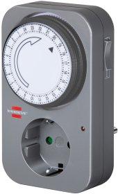 Laikmatis BRENNENSTUHL 1506450 3500 W, 24val. / 15min., IP20, 16 A, 230 V, 50Hz, mechaninis, MZ-20