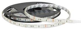 Šviesos diodų juostos komplektas COMMEL 405-115, LED 5 m, 14,4 W / m, IP65, 3000K, 12V, 50.000 val., SMD5050 60 LED / m, transformatorius iš 100-240V į 12V