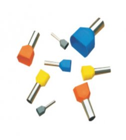 Antgalis dviems laidams  3656 TE0508 (0,5 mm²), 100 vnt