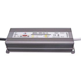 LED transformatorius AVIDE HRW-12V60W, galia 0-60 W, DC 12 V, AC 220 V, IP67