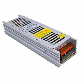 LED transformatorius AVIDE HRL-12V150W, galia 0-150 W, DC 12 V, AC 220 V, IP20, SLIM