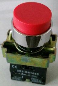 Mygtukas   raudonos spalvos, įjungimo / išjungimo, metaliniu korpusu