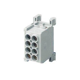 Paskirstymo gnybtas MOREK MAG1250A32, MAG25-2,  4 x 25 mm², pilkos spalvos