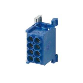 Paskirstymo gnybtas MOREK MAG1250B32, MAG25-2,  4 x 25 mm², mėlynos spalvos