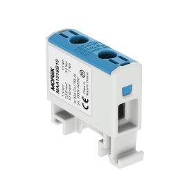 Gnybtas MOREK MAA1016B10, OTL16, 1xAl/Cu, 1,5 - 16 mm², 1000 V, mėlynos spalvos