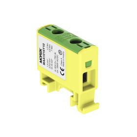 Gnybtas MOREK MAA1016Y10, OTL16, 1xAl/Cu, 1,5 - 16 mm², 1000 V, geltonos/žalios spalvos