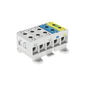 Gnybtas MOREK MAA5035A10, OTL35-5x, 5x1xAl/Cu, 2,5 - 35 mm², 1000 V, įvairių spalvų