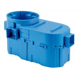 Montažinė dėžutė SIMET SE2x60G, 60 mm, g/k, nepalaiko degimo, IP20, mėlynos spalvos