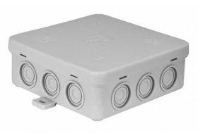 Paskirstymo dėžutė N7, paviršinė, 100 x 100 x 39 mm, IP54, pilka