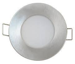 Montuojamas šviestuvas ORNO BONO-R LED 5W 220V, 330 lm, WW, IP65, matinio chromo sp.,