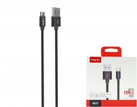USB-A-Type C laidas HAVIT M.CUBE 617