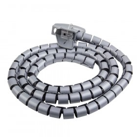 Vamzdis laidams ELECTRALINE FLEX, 25 mm, 1,8 m, sidabrinės sp., 60628