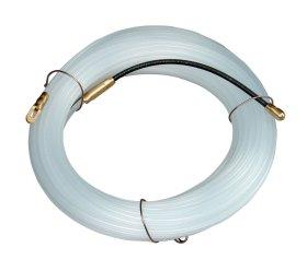 Viela kabeliams traukti ELECTRALINE, 15 m, storis 3 mm, baltos spalvos, 61051