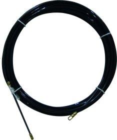 Viela kabeliams traukti ELECTRALINE, 10 m, storis 4 mm, juodos spalvos, 61050